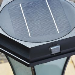 Solar Pedestal Light Switch