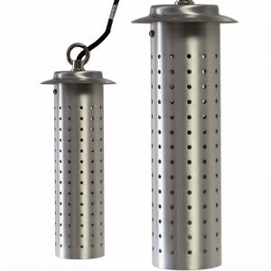 Starlight - Satin Silver Hanging Garden Light- 12v