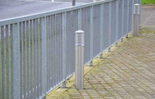 0.8m Stainless Steel Bollard