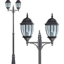 Turpin Double Lamp Post