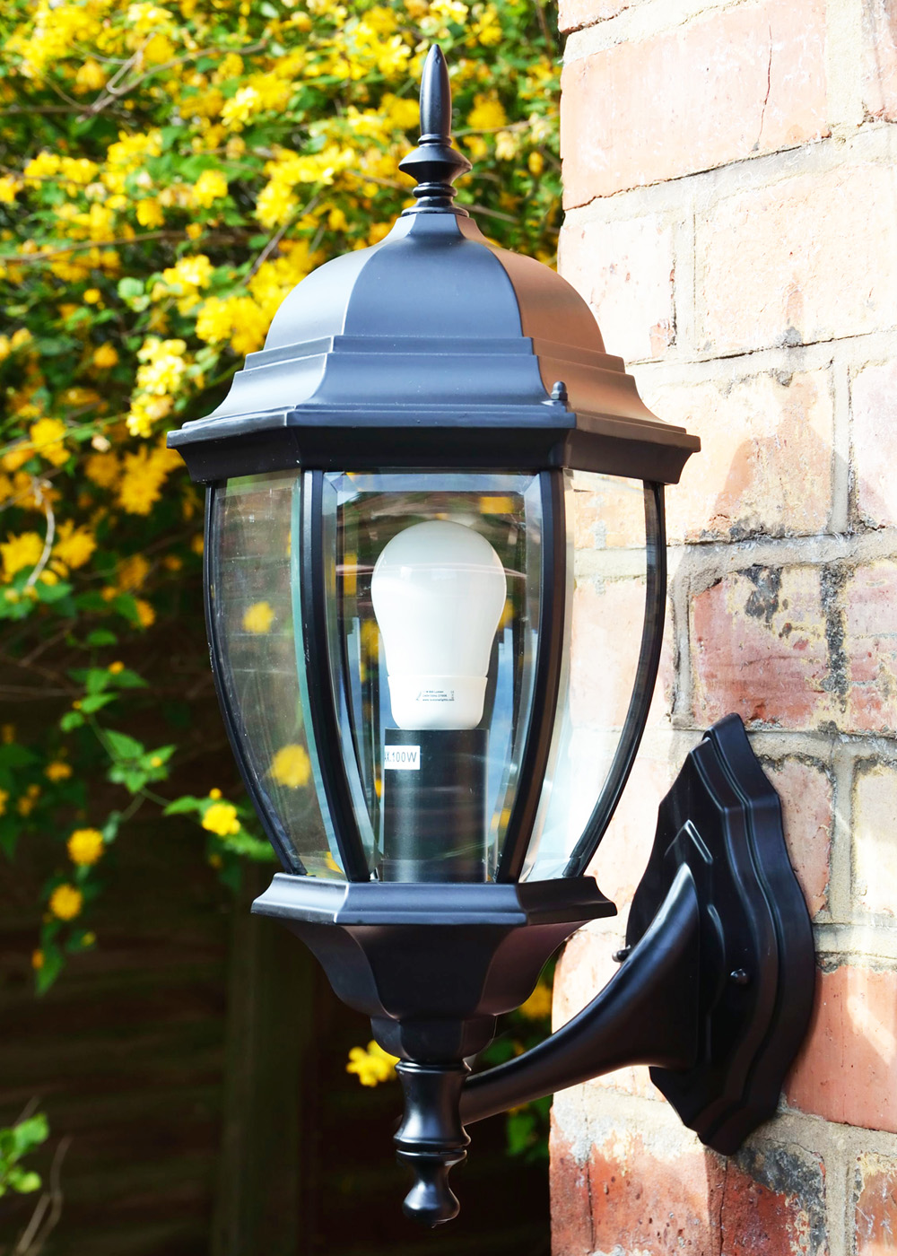 Traditional Wall Lantern Turpin Large Outdoor Wall Light