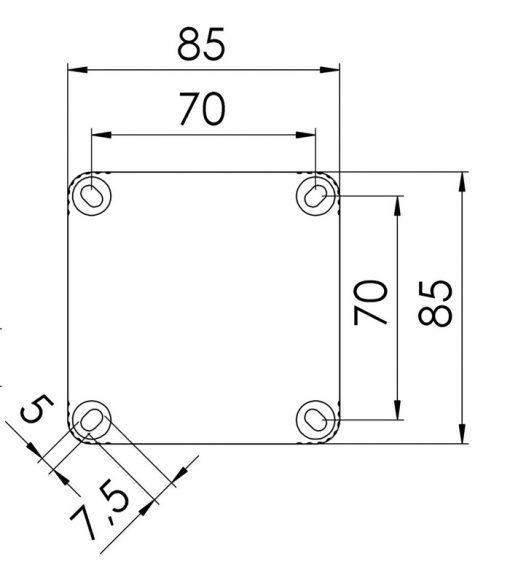 8 way Junction Box
