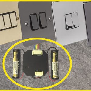 Light Symphony Wireless Wall Switch
