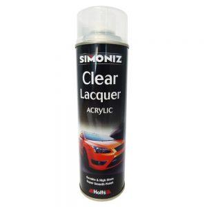 Simoniz Clear Lacquer (Acrylic) - 500ml Aerosol