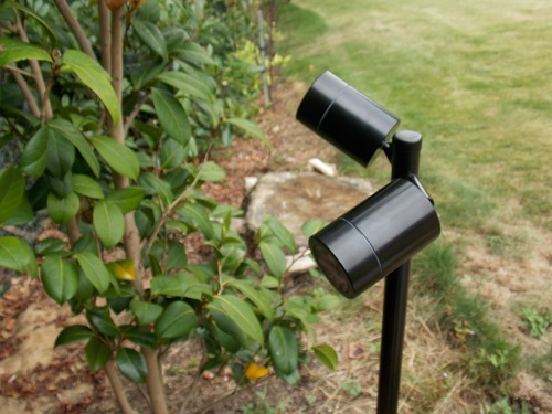 Smartspike 260 Black Twin Spike Light 12v Mr16