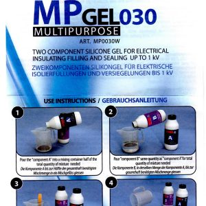 Wiska MP Gel 030 Instructions