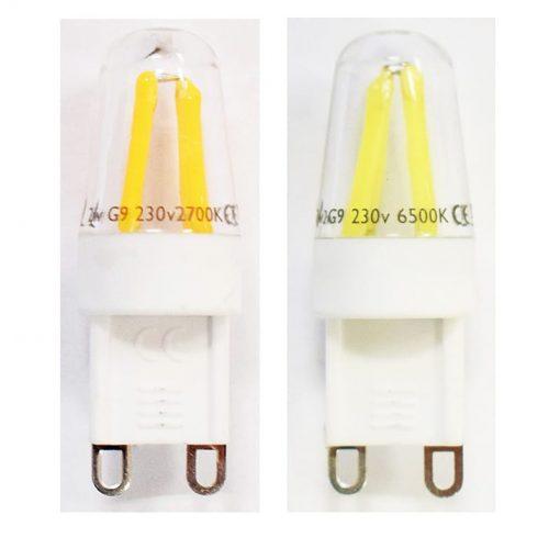 2w G9 LED Bulbs