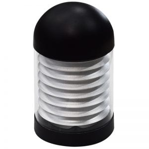 Bollard Spares Domed Ledifice head black