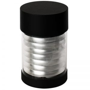 Spare Bollard Heads - Flat Ledifice head black