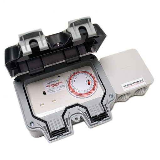 LightWatchman Outdoor Timer Socket with Photocell
