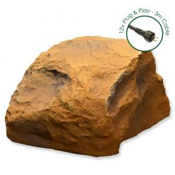 Luxrox 3 Sandstone 12v Garden Rock Lights