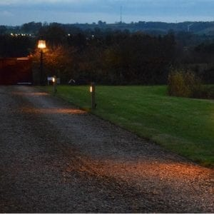 Radiata Sleeper illuminated - Gazewell Farm - Brockhall