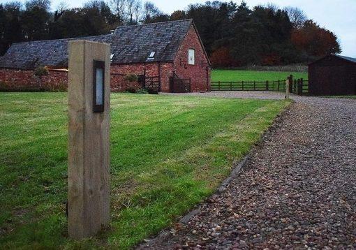 Radiata Sleeper - Gazewell Farm - Brockhall