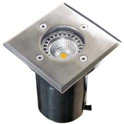 Cubik 100 square decking light