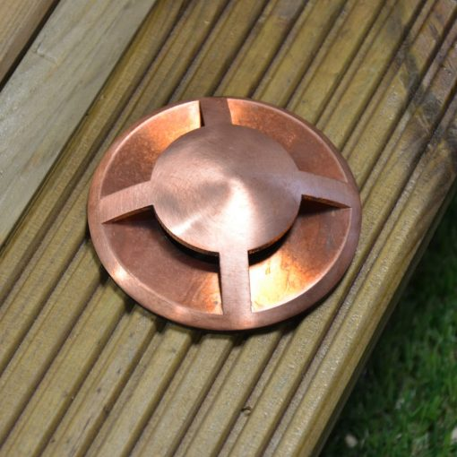 Copper Directional Recessed Light