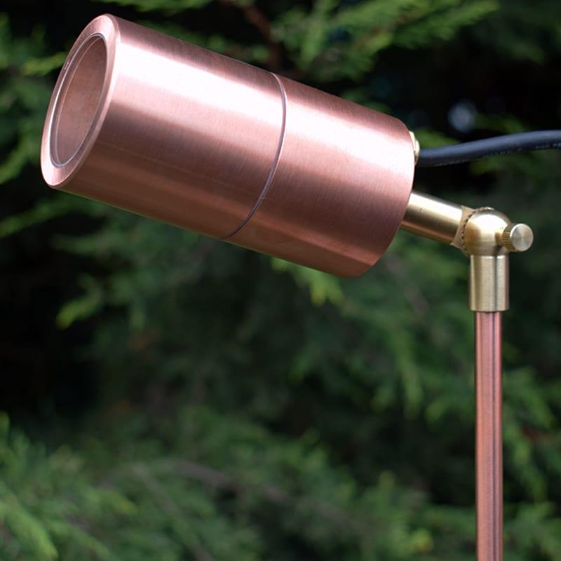 Ultra Spikelight 60 Natural Copper Spotlight 12v