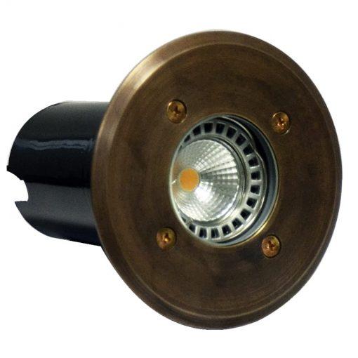 Decimax-Brass-120 brass deck light