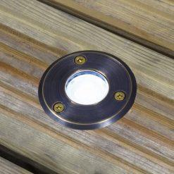 Brass Decking Light
