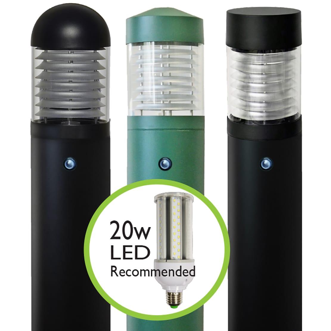 Ledifice Commercial Dusk To Dawn Led Bollard Lighting
