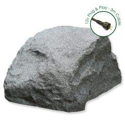 Luxrox 3 White Granite 12v Garden Rock Lights
