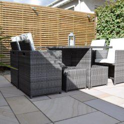 Adjustable Spot Light - Smartspot Titanium in situ patio