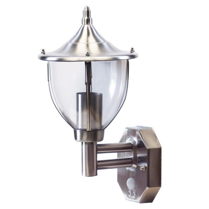 Stellus centurian wl s stainless steel outdoor motion sensor wall light pir pir wall light aloadofball Choice Image