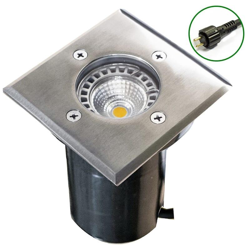 Recessed Lighting Plug In : Cubik v recessed light stainless steel
