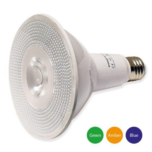 LED 15w PAR38 - Coloured