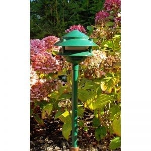 Garden Spreadlight Patholite -12V Adjustable Spreadlight - Garden Green