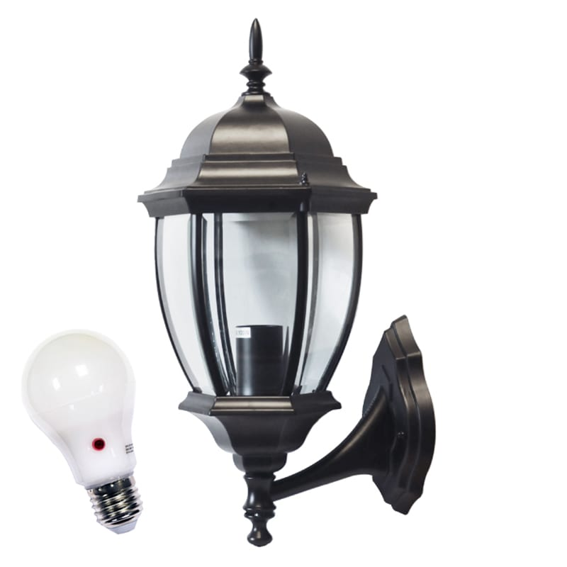 Dusk To Dawn Wall Lantern -Turpin Traditional Wall Light