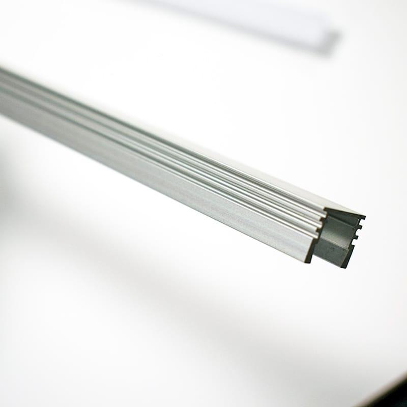 Extruded aluminium profile for led strip opal diffuser surface mount aluminium profile for led strips 3 aloadofball Images