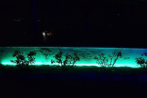 green strip light - lediflex