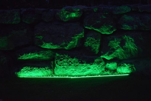 green strip light - lediflex