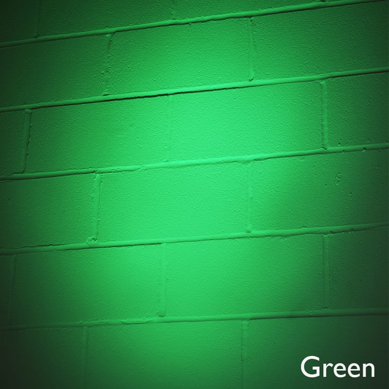 Litecast 12w Led Coloured Wall Washer Warm Or Daylight