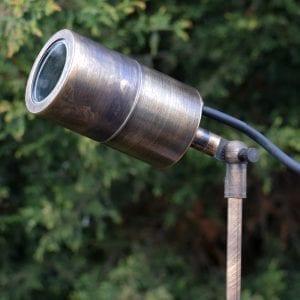 ultra-spikelight Brass Spotlight