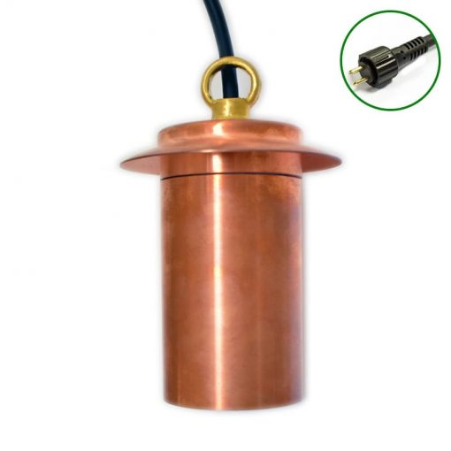 Pergolux 12v Plug & Play Hanging Light - Natural Copper