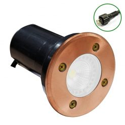 Copper Recessed Light