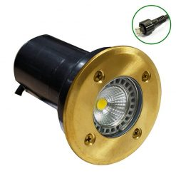 Decimax Polished Brass 100 12v Plug & play recessed light