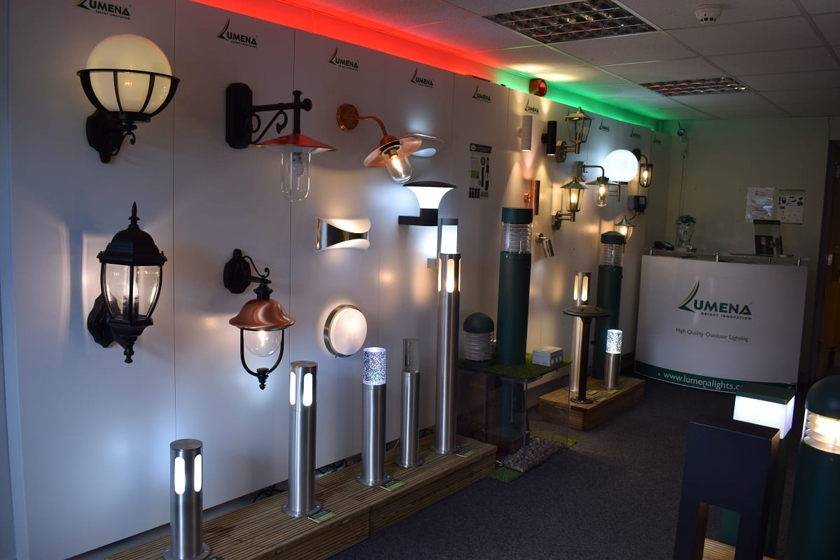 Outdoor Wall Lights - Daventry Showroom