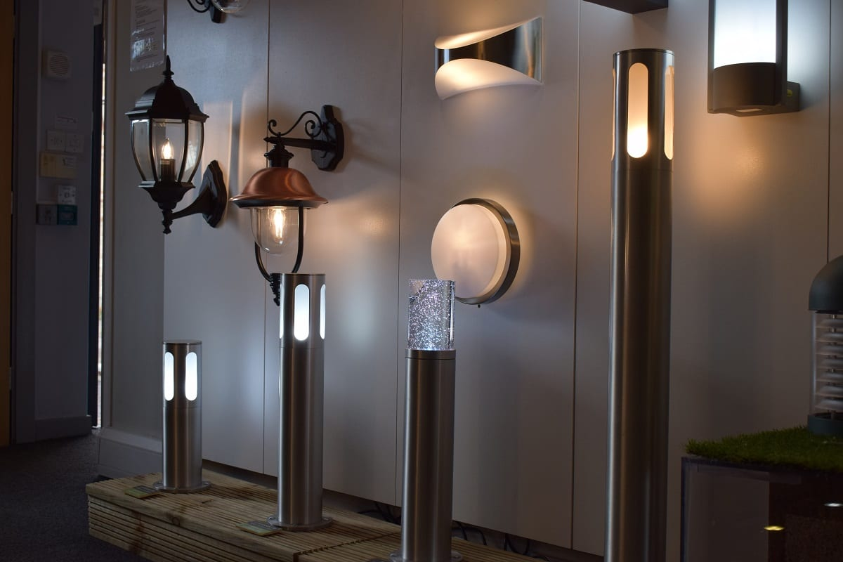Post Lights - Daventry Showroom