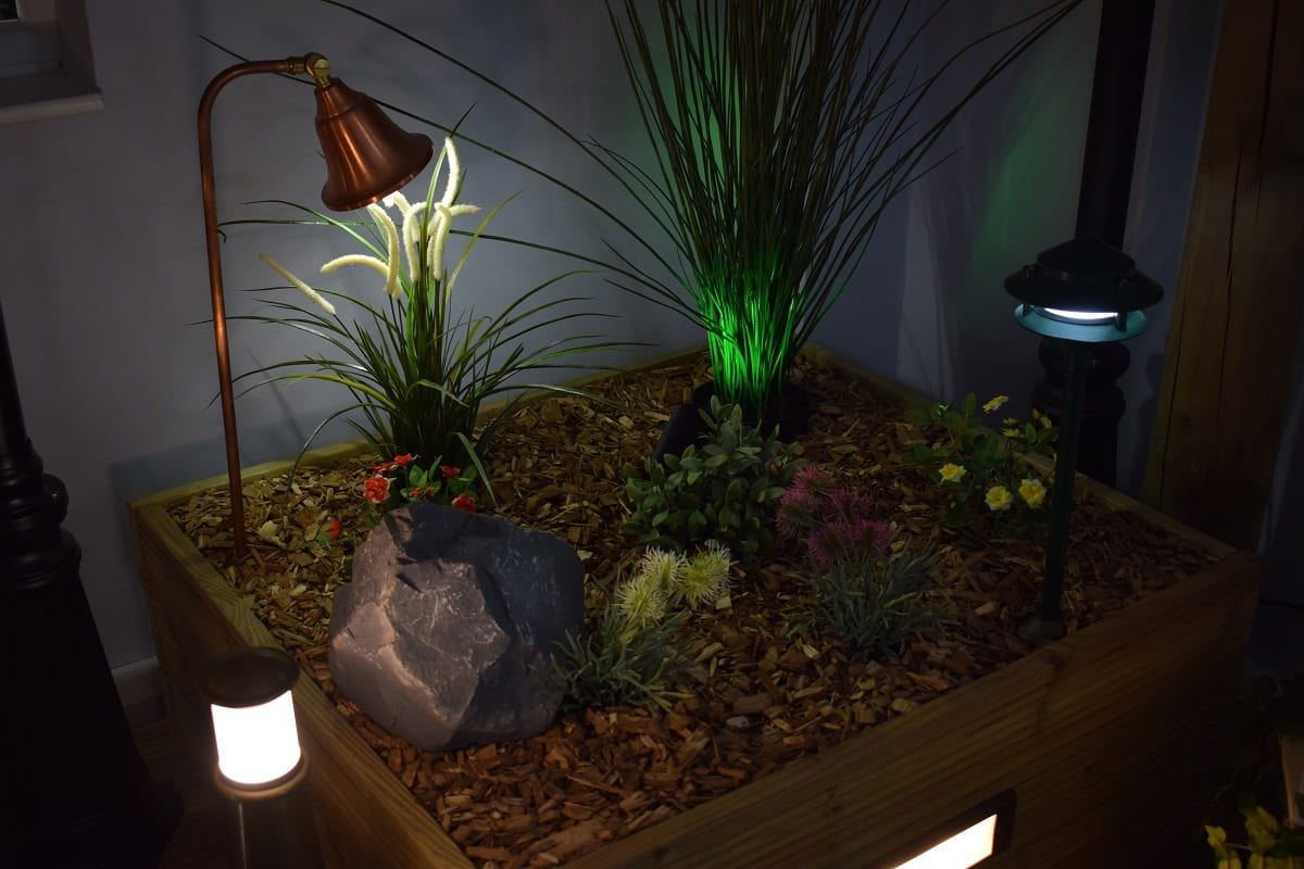 Garden Spike Lights - Daventry Showroom