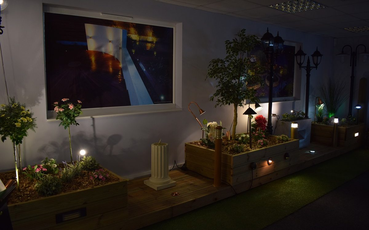 Garden Lights - Daventry Showroom