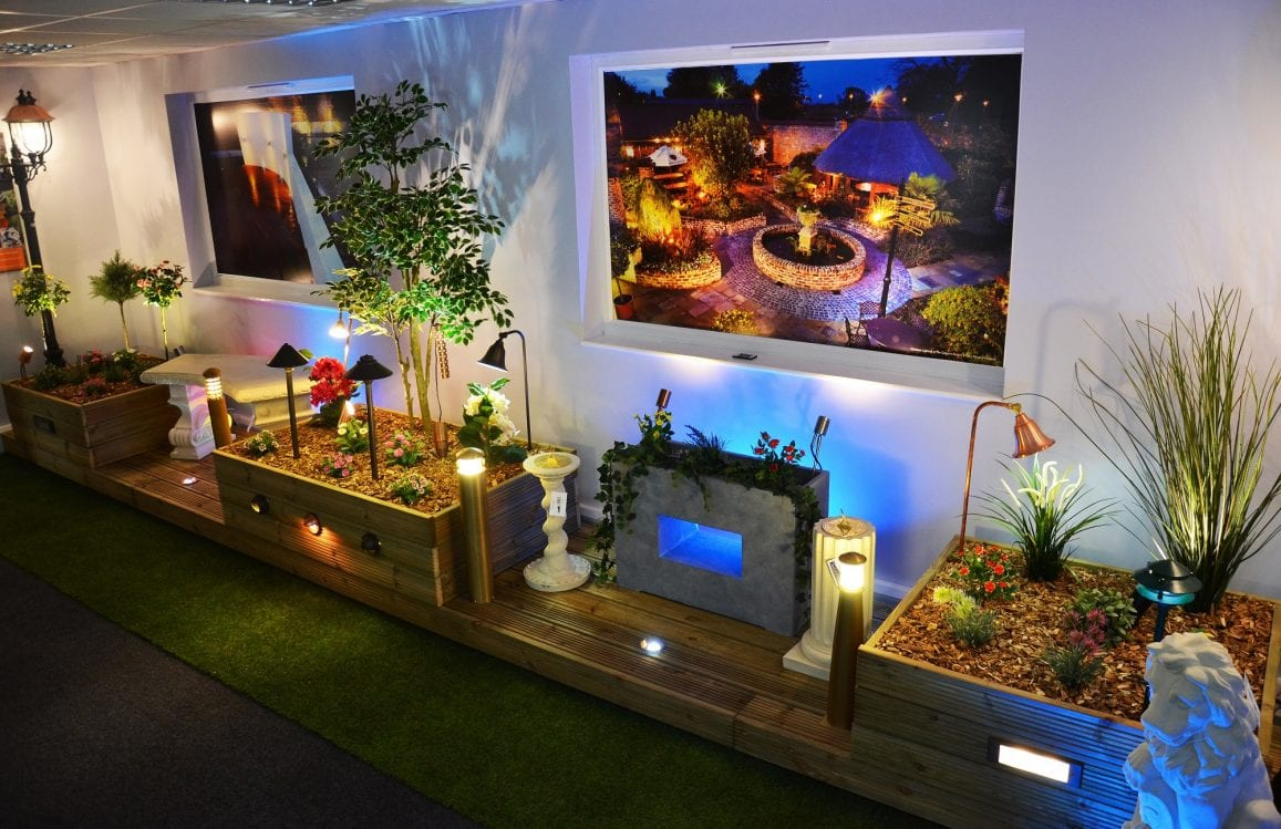 Garden Lighting Showroom in Northamptonshire