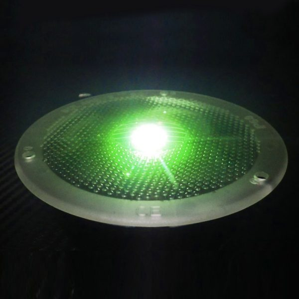 SolarEye Green - in-ground Solar Light