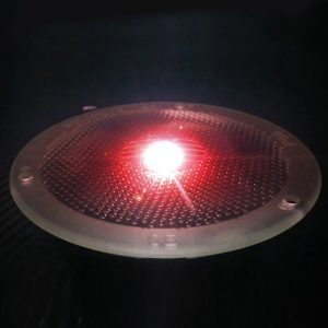 SolarEye Red - in-ground Solar Light