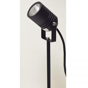 Alvaled Black LED Spike Light