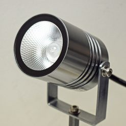 Alvaled Titanium Silver LED Spike Light
