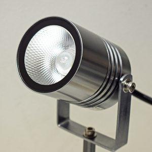 Alvaled Titanium Silver LED Spike Light