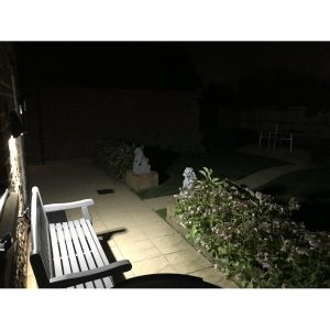Secursol 15W Solar Light - Spread of Light