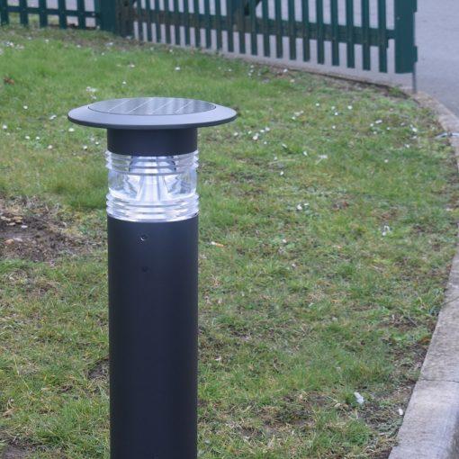 Solar Post Light installed - Panama